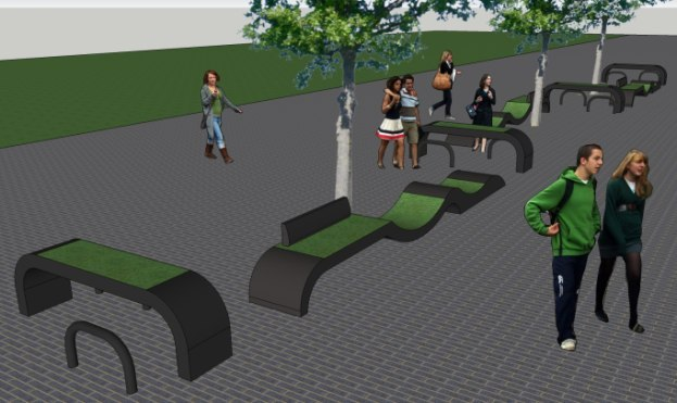 Street furniture design